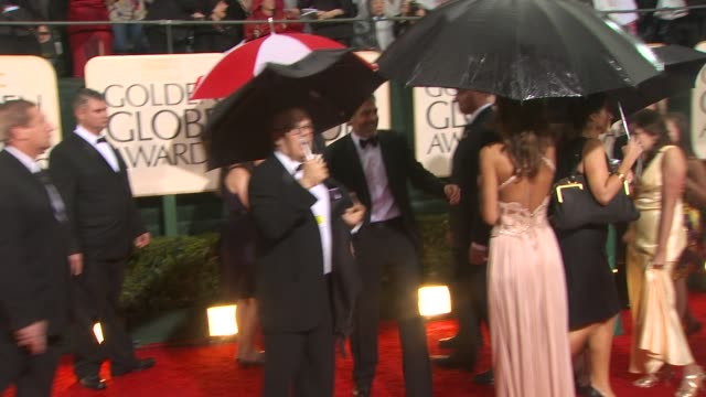 george clooney at the 67th annual golden globe awards arrivals part 4 at beverly hills ca - 2010 stock videos & royalty-free footage
