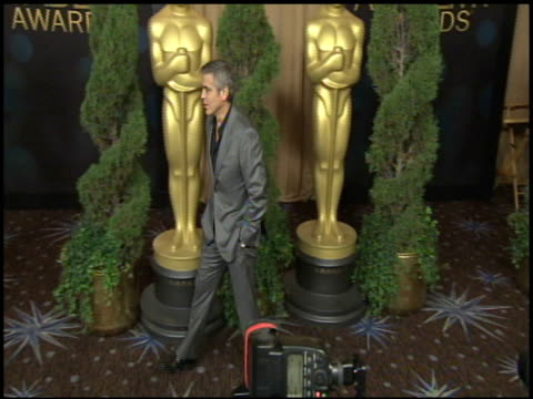 george clooney at the 84th academy awards nominations luncheon in beverly hills ca on 2/6/12 - george clooney stock videos and b-roll footage