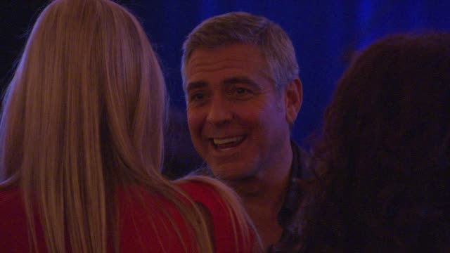George Clooney at the Cinema For Peace Fundraiser at the Montage Hotel on 01/14/12 in Los Angeles CA