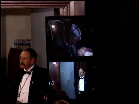 george clooney at the dga awards at hyatt regency in century city, california on january 28, 2006. - hyatt regency stock videos & royalty-free footage