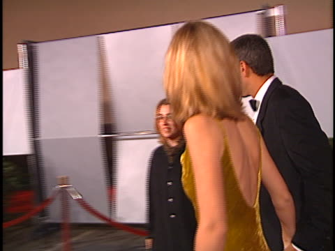 george clooney at the fire and ice ball at warner bros. studios. - warner bros stock videos & royalty-free footage
