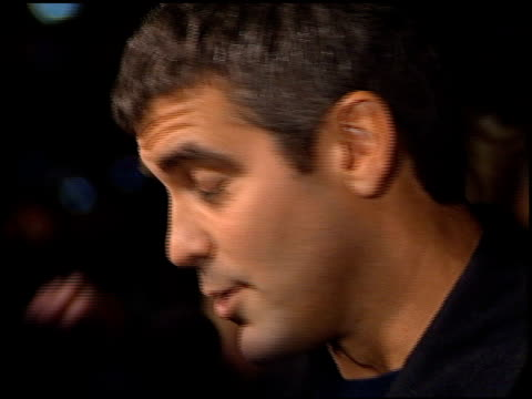 george clooney at the 'from dusk to dawn' premiere at the cinerama dome at arclight cinemas in hollywood california on january 17 1996 - arclight cinemas hollywood stock videos and b-roll footage