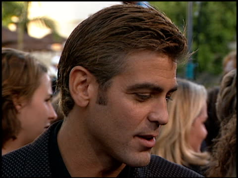 George Clooney at the 'Out of Sight' Premiere at Universal Studios in Universal City California on June 17 1998