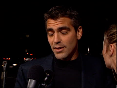 George Clooney at the 'Paradise Road' Premiere at AMPAS in Beverly Hills California on April 4 1997