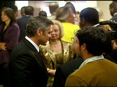 George Clooney at the Singers and Songs Celebration of Tony Bennett's 80th Birthday By Raising Funds for Newmans 'Hole in the Wall Camps' AFTER PARTY...