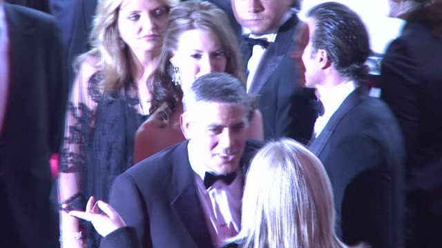george clooney at the superheroes fashion and fantasy costume institute gala at the metropolitan museum of art at the metropolitan museum of art in... - 2008 stock videos & royalty-free footage