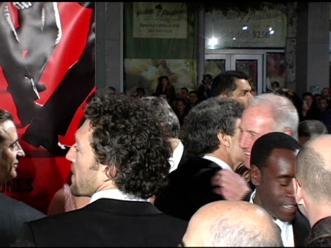 George Clooney Don Cheadle Andy Garcia Catherine ZetaJones Matt Damon Steven Soderbergh Elliott Gould at the 'Ocean's Twelve' Los Angeles Premiere...