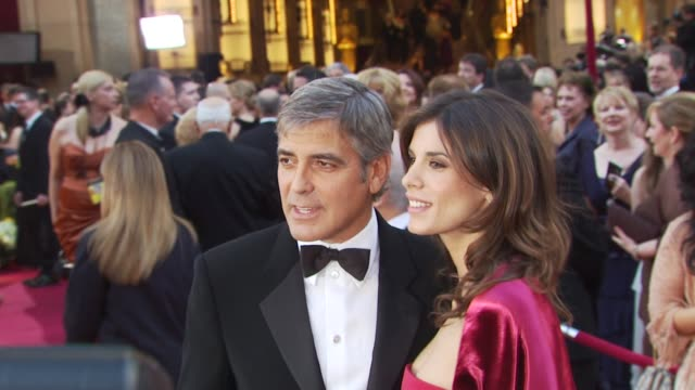 George Clooney Elisabetta Canali at the 82nd Annual Academy Awards Arrivals at Hollywood CA