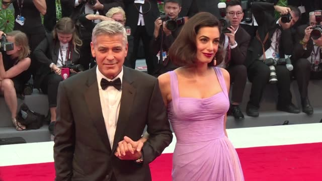 George Clooney is back in the Venice limelight with Suburbicon a toxic depiction of 1950s America he says he was inspired to make after listening to...