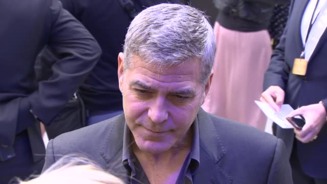 INTERVIEW George Clooney on choosing film roles at 'Tomorrowland' A World Beyond UK Premiere