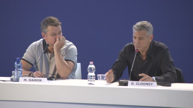 INTERVIEW George Clooney on films are used to pin point a the in history the United States having a dark cloud hanging over it anger through the...