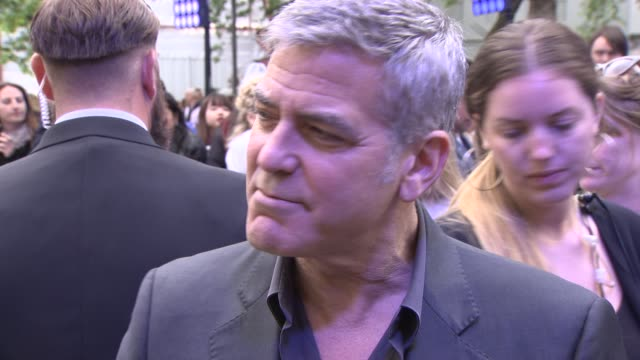 INTERVIEW George Clooney on his idea of Utopia and the themes of the film at 'Tomorrowland' A World Beyond UK Premiere