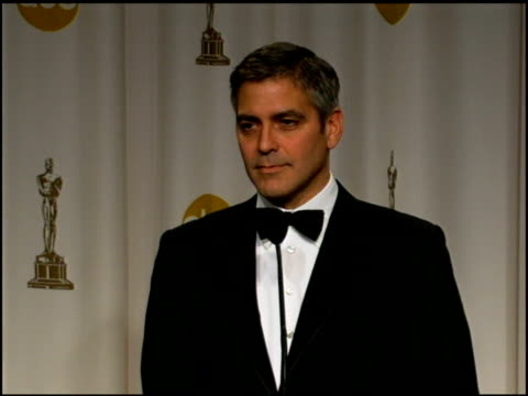 George Clooney on Hollywood not being ahead of the curve in voicing social issues but reflecting the themes which people care about at the 2006...