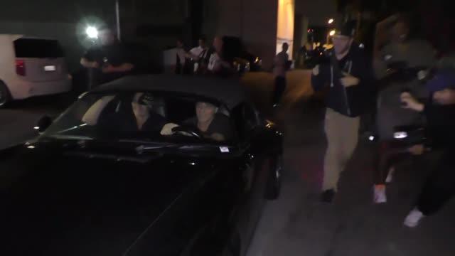 George Clooney outside Craig's Restaurant in West Hollywood in Celebrity Sightings in Los Angeles