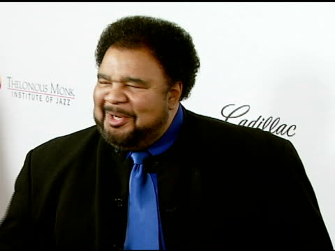 george duke and louis gossett jr at the the thelonious monk institute of jazz and the recording academy® los angeles chapter partner to honor jazz... - herbie hancock stock-videos und b-roll-filmmaterial