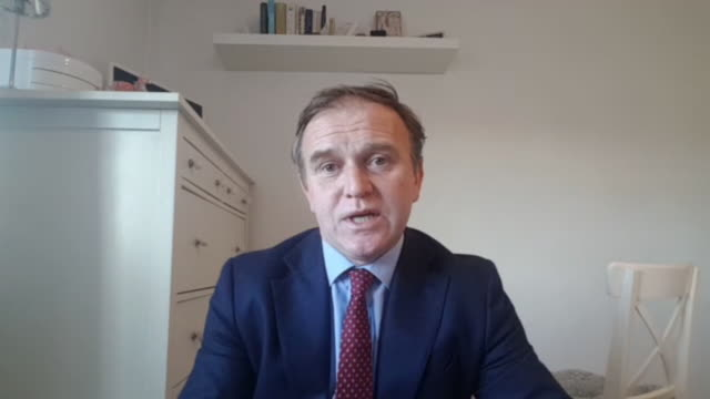 george eustace saying the government are now rolling out coronavirus testing to all care homes - rolling stock videos & royalty-free footage