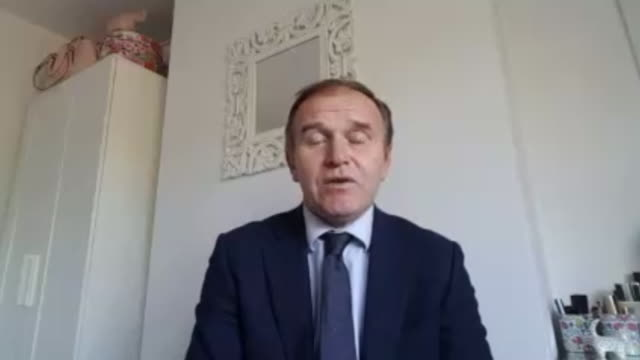 "george eustice saying gatherings of 6 in an easing of coronavirus lockdown regulations is ""a sensible number"" - number 6 stock videos & royalty-free footage"