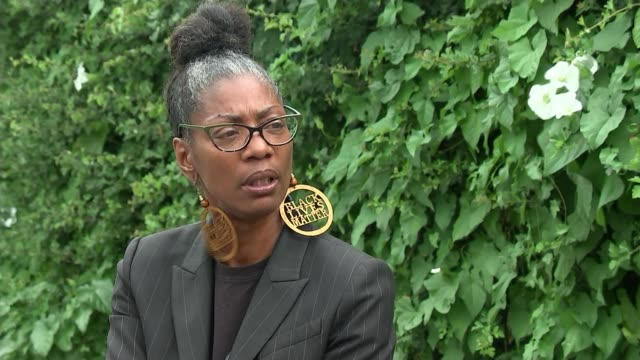 george floyd death / sean rigg death in custody: sean rigg's sister on police brutality in the uk; england: london: ext marcia rigg interview sot. -... - sister stock videos & royalty-free footage
