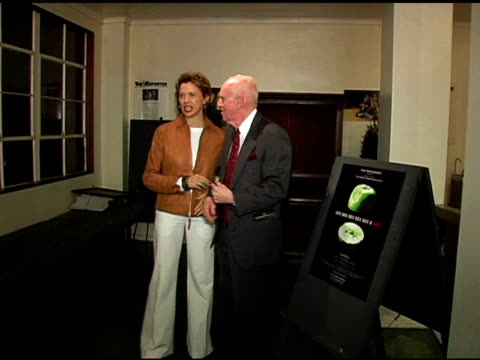 george furth and annette bening at the sex, sex , sex, sex, sex and sex premiere at the matrix theatre in los angeles, california on june 2, 2005. - annette bening stock videos & royalty-free footage