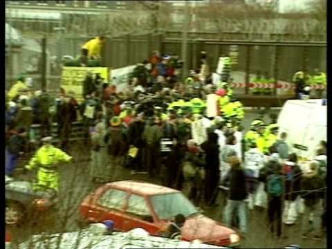George Galloway arrested over Faslane protest SCOTLAND Faslane Glasgow Kelvin being carried away by police PAN to others being carrid away by police...