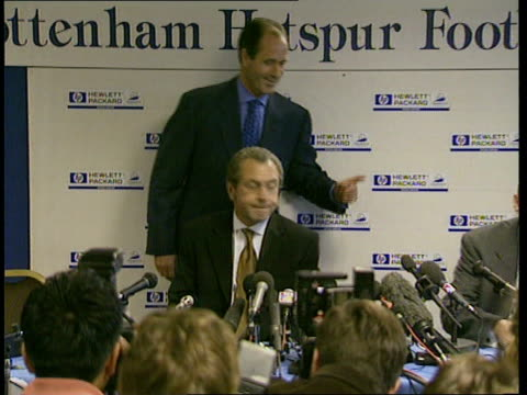 George Graham is new Tottenham Hotspurs manager ITN London Tottenham Car bringing new Tottenham Hotspur Manager George Graham to White Hart Lane...