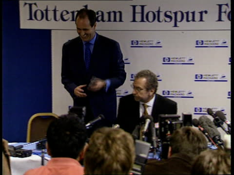 George Graham is new Tottenham Hotspurs manager ITN London Tottenham Tottenham Hotspur Manager George Graham taking seat at pkf alongside Tottenham...