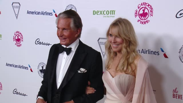 george hamilton and alana stewart at 2018 carousel of hope ball at the beverly hilton hotel on october 06, 2018 in beverly hills, california. - alana stewart stock videos & royalty-free footage