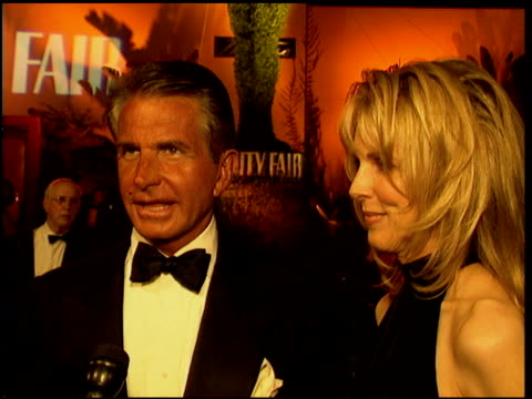 george hamilton at the 1996 academy awards vanity fair party at morton's in west hollywood california on march 25 1996 - 68th annual academy awards stock videos and b-roll footage