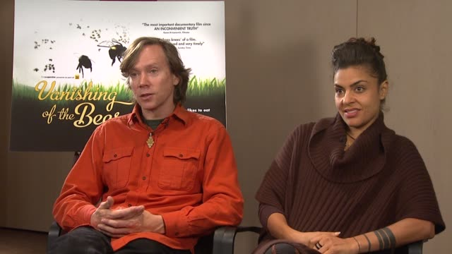 stockvideo's en b-roll-footage met george langworthy and maryam henein on how the environmental protection agency isn't paying proper attention as the pesticide companies have too much... - mileubeschermingorganisatie