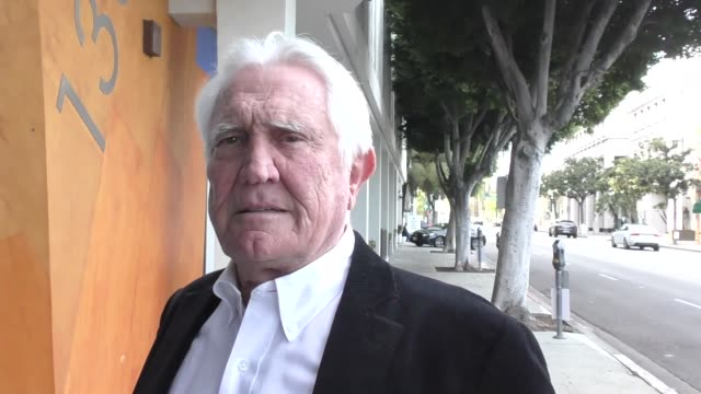 george lazenby arrives at the miles to go premiere at writers guild theater in beverly hills in celebrity sightings in los angeles - george lazenby stock videos & royalty-free footage