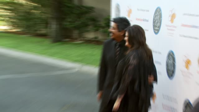 George Lopez and Ann Lopez at the National Kidney Foundation's 28th Annual Gift of Life Event at the WB Studios in Los Angeles California on April 29...