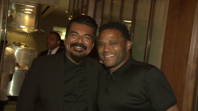 george lopez and anthony anderson at the george lopez foundation 10th anniversary celebration party at baltaire on april 30, 2017 in los angeles,... - anthony anderson stock videos & royalty-free footage