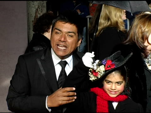 George Lopez and daughter at the 'Mary Poppins' 40th Anniversary and Launch of the Special Edition DVD Arrivals at the El Capitan Theatre in...