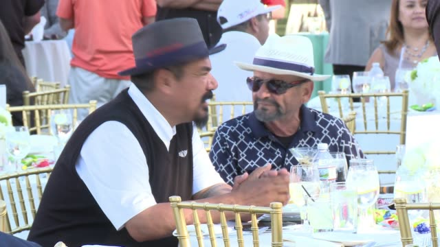 george lopez and joe pesci at the 10th annual george lopez foundation celebrity golf classic at lakeside golf club on may 1, 2017 in toluca lake,... - toluca lake stock videos & royalty-free footage