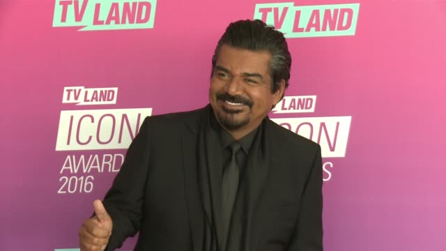 George Lopez at 2016 TV Land Icon Awards at Barker Hangar on April 10 2016 in Santa Monica California