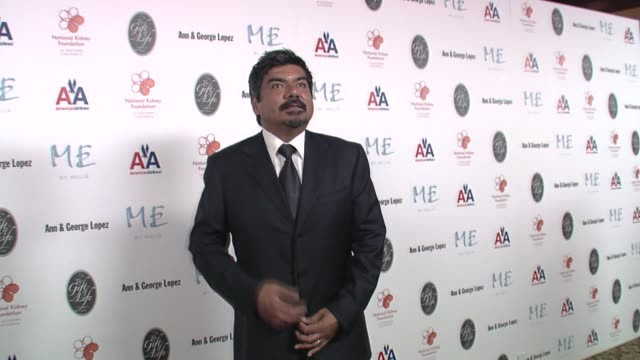 george lopez at the 29th annual the gift of life gala at the hyatt regency century plaza hotel in beverly hills, california on may 18, 2008. - hyatt regency stock videos & royalty-free footage