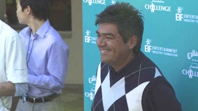 George Lopez at the Callaway Golf Foundation's Annual ProCelebrity Tournament at Los Angeles CA
