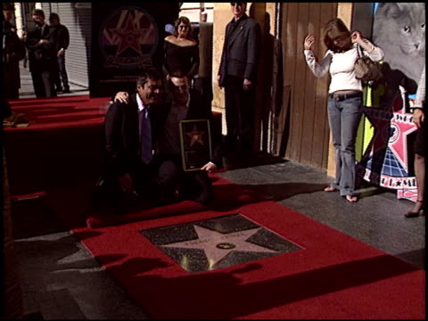 George Lopez at the Dediction of Freddie Prinze's Walk of Fame Star at the Hollywood Walk of Fame in Hollywood California on December 14 2004