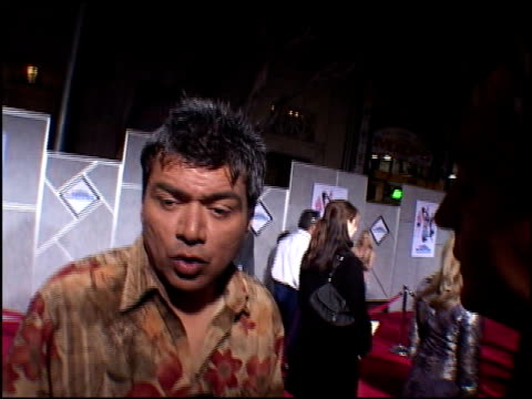 George Lopez at the Premiere of 'The Pacifier' at the El Capitan Theatre in Hollywood California on March 1 2005