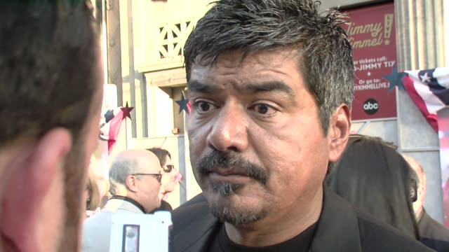 George Lopez at the 'Swing Vote' Premiere at Los Angeles CA