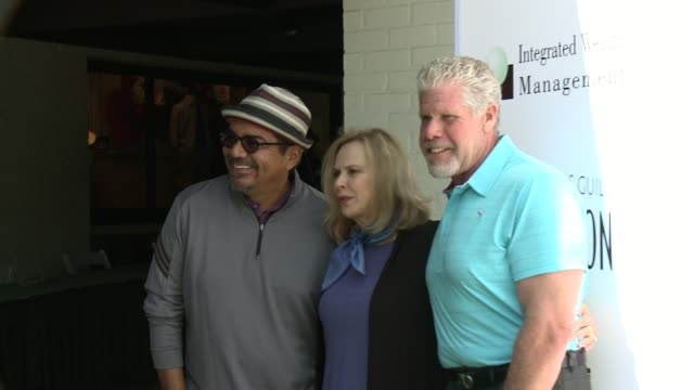 George Lopez JoBeth Williams and Ron Perlman at Screen Actors Guild Foundation 4th Annual Los Angeles Golf Classic George Lopez JoBeth Williams and...