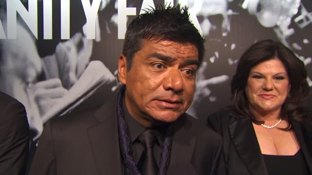 george lopez on attending the vanity fair oscar party at the 2010 vanity fair oscar party hosted by graydon carter at west hollywood ca - graydon carter stock videos and b-roll footage
