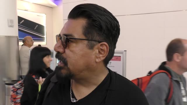 INTERVIEW George Lopez on his comments on Ivanka Trump at Los Angeles International Airport at Celebrity Sightings in Los Angeles on March 24 2017 in...