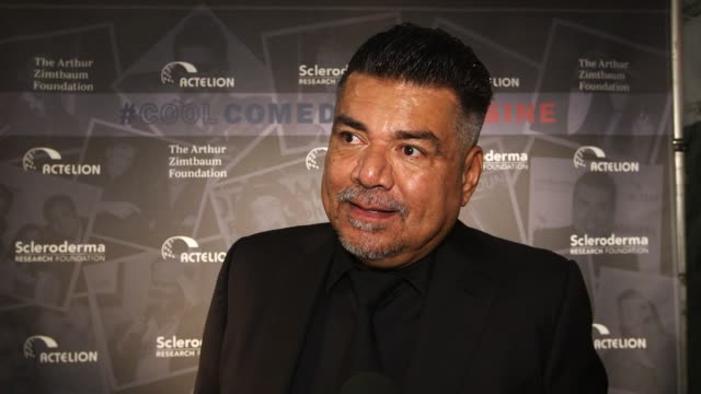 INTERVIEW George Lopez on supporting Bob and the foundation at Scleroderma Research Foundation's 30th Anniversary Cool Comedy Hot Cuisine New York at...