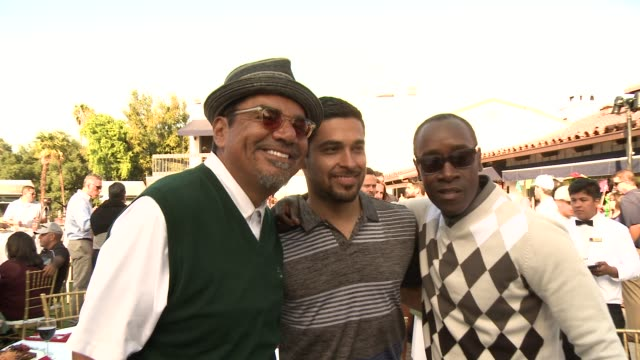 george lopez wilmer valderrama don cheadle at the 7th annual george lopez celebrity golf classic presented by sabra salsa in los angeles ca - wilmer valderrama stock videos and b-roll footage