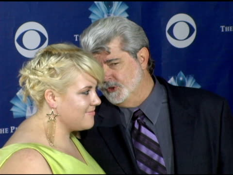 George Lucas and daughter Amanda at the 2006 People's Choice Awards arrivals at the Shrine Auditorium in Los Angeles California on January 10 2006