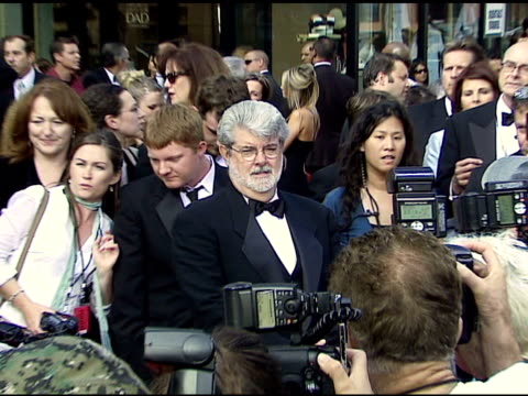 George Lucas and daughter Katie at the 34th AFI Life Achievement Award A Tribute To Sean Connery at the Kodak Theatre in Hollywood California on June...