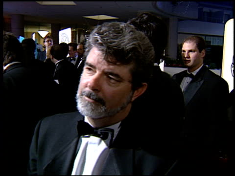 George Lucas at the 1994 Golden Globe Awards at the Beverly Hilton in Beverly Hills California on January 22 1994