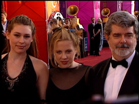 George Lucas at the 1999 Grammy Awards at the Shrine Auditorium in Los Angeles California on February 24 1999