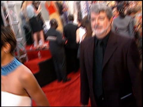 George Lucas at the 2000 MTV Movie Awards at Sony Studios in Culver City California on June 3 2000
